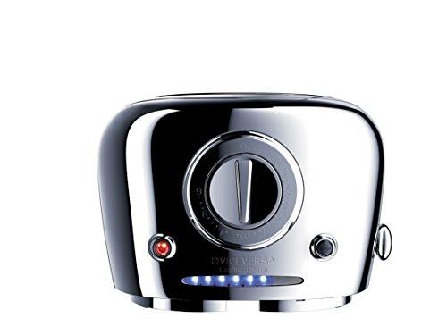 Viceversa 2135071Tix Pop-up-Toaster, verchromt