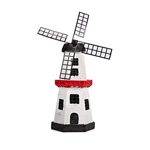 zhuyu Windmühle Leuchtturm Spinner Solar Garten Rasen LED Lampe Licht Dekoration Geschenk | Garten > Dekoration > Windmühlen | zhuyu