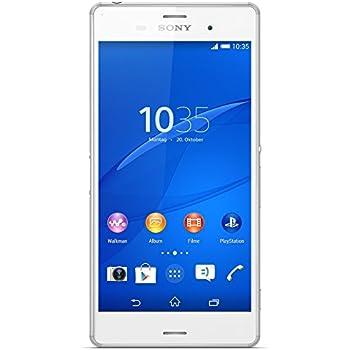 Sony Xperia Z3 D6603 Smartphone débloqué 4G (Ecran: 5,2 pouces 16 Go Simple SIM Android ) Blanc