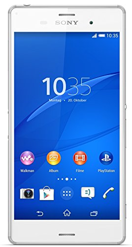 Sony Xperia Z3 Smartphone (13,2 cm (5,2 Zoll) Touch-Display, 16 GB Speicher, Android 4.4) weiß (Handy Z3)