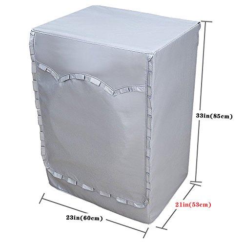 [mr.you]lavatrice copertura per esterni impermeabile protezione solare antipolvere giardino balcone nei 5 anni di vita utile fiore edge(m)
