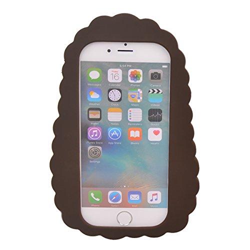 """iPhone 6s Plus / 6 Plus (5.5"""") Coque,COOLKE Mode 3D Style Cartoon Gel Soft silicone Coque Housse étui Case Cover Pour Apple iPhone 6s Plus / 6 Plus (5.5"""") - 013 008"""
