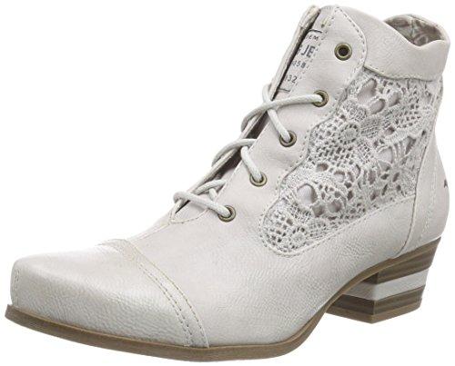 Mustang 1187-501, Damen Kurzschaft Stiefel, Elfenbein (203 ice), 36 EU (Stiefel Elfenbein)