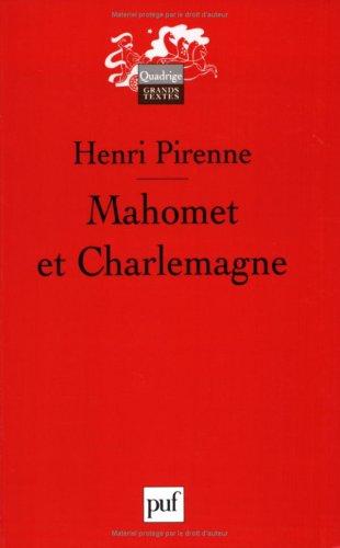 Mahomet et Charlemagne par Henri Pirenne