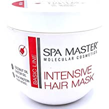 Spa Master Profesional Mascarilla Capilar Intensiva para Pelo Coloreado y/o Seco con Aceite de Coco y Ricino