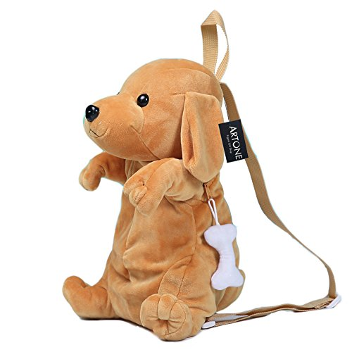artone-fuzzy-dachshunds-dog-zoo-pack-little-kid-backpack-children-daypack-gold