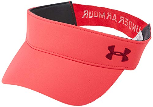 Under Armour Damen UA Links Visor 2.0 Kappe, Rosa, OSFA