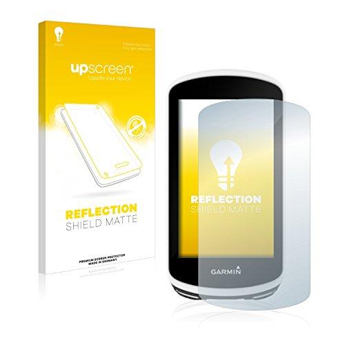 upscreen Reflection Shield Protector Pantalla Mate Garmin Edge 1030 Película – Antireflejos, Anti-Huellas