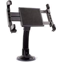 """Duragadget support rotatif (180°) pare-brise ajustable pour tablettes Boulanger LISTO Web'PAD 1001 10,1"""", Web'PAD 7002 7"""" et ESSENTIELB Family'TAB 8"""""""