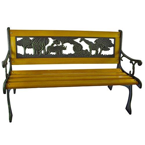Hohe Patio Tisch (Kinder Möbel Gartenmöbel aus Holz Prüfstand Parc Safari Beinen eisen Décor Patio Sitz)