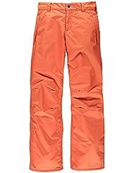 Brunotti Pantalones de esquí niña lanta Girls snowpant, color  - rosa melocotón, tamaño 6 años (116 cm)
