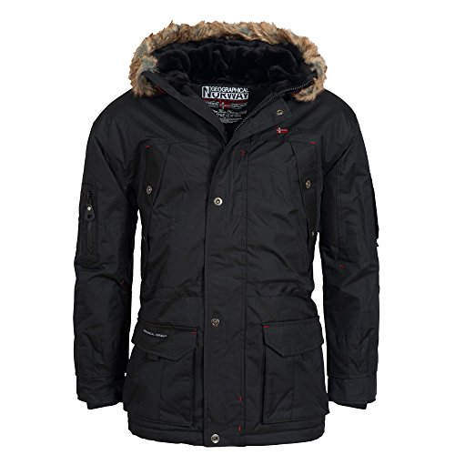 Geographical Norway Alaska, Winterparka mit Kapuze und Fell