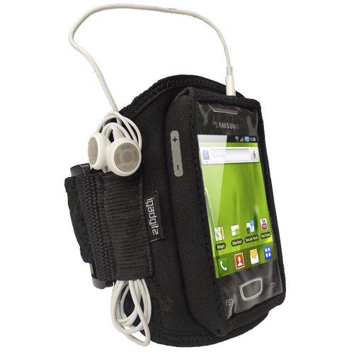 send Neopren Sportarmband für Samsung Galaxy Mini S5570–Schwarz (Otterbox Samsung Galaxy S3 Mini)