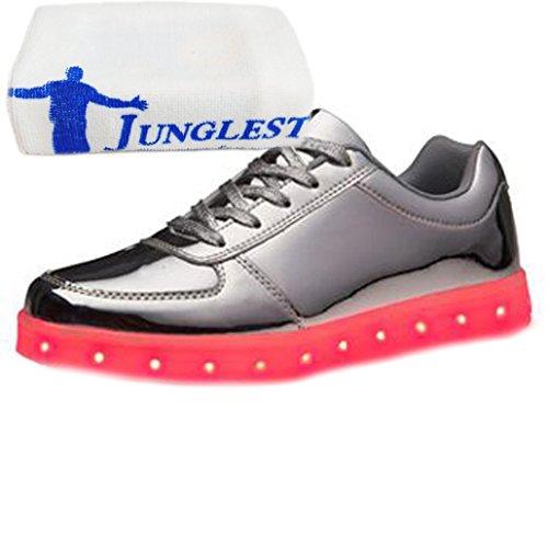 [Présents:petite serviette]JUNGLEST® - Baskets Lumine Argent