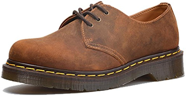 West See Herren Business Schuhe Leder Kurzschaft Stiefel Herrenschuhe Oxford Schnürer Schnürsenkel Ital Design