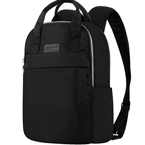 21660797c3a8 Womens Laptop Backpack, 15.6 Inch Stylish Business Laptop Computer Bag  Waterproof Rucksack Lightweight Fashion Casual Daypack with Handle for  College ...