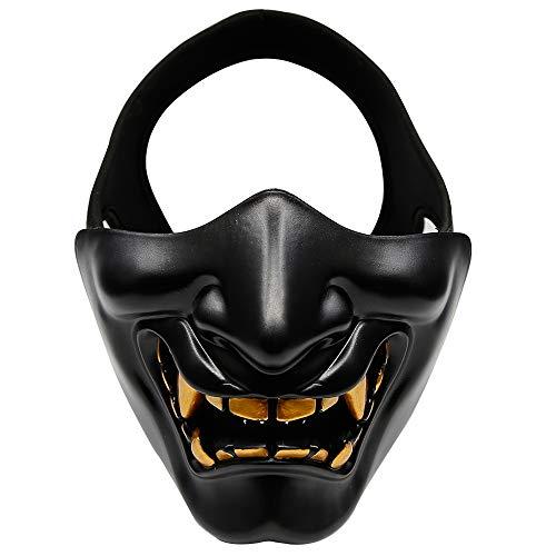 Leslaur Máscara táctica Media Cara Máscara Protectora