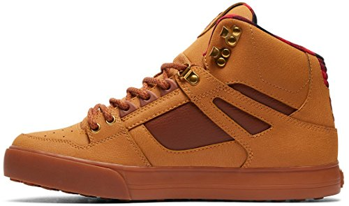 DC SPARTAN HIGH WC Herren Hohe Sneakers Brown TBK