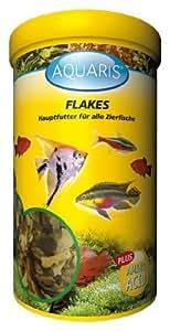 AQUARIS FLAKES -AQUARIUM FISCHFUTTER - 1 LITER