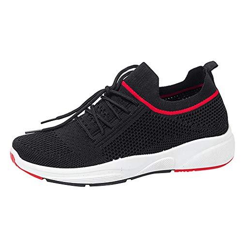 friendGG✿Mode Sommer Freizeit Schuhe Damen Outdoor Netz Sportschuhe Laufschuhe Runing Atmungsaktive Schuhe Sneakers Turnschuhe - Sonic Pump
