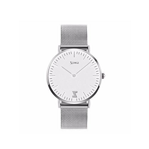 Zemge 36 mm Coque femmes montres Ultra mince à quartz analogique étanche montre bracelet Unisexe Business Casual simple Design classique DW Style Zc0502 W