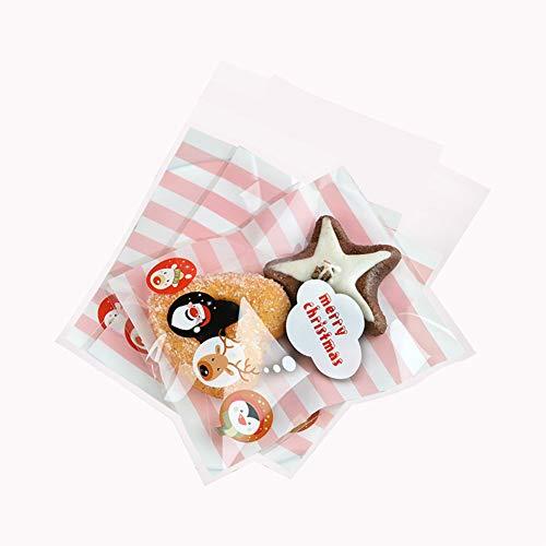 üße Süßigkeiten Verpackung Tasche Plätzchen Bonbons Tüten Transparent Flachbeutel Gebäck Geschenk Tüten ()