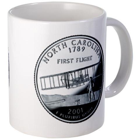 NORTH CAROLINA NC staatliche Quartal, Mint, Motiv Kaffeetasse, Keramik, 11 Unzen