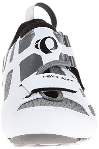 Pearl Izumi Chaussures de Triathlon carbone homme TRI FLY V White-Black