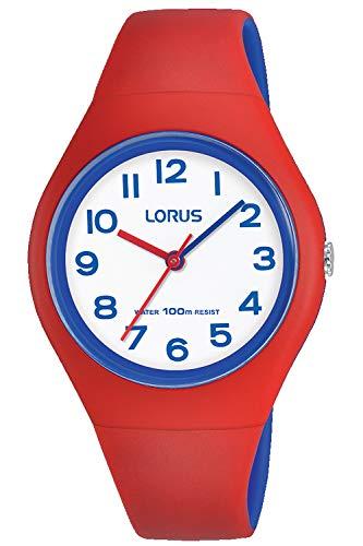 Lorus Kids Montre Mixte Analogique Quartz avec Bracelet Polyuréthane RRX03GX9