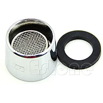 zuanty Water Saving Kitchen Faucet Tap Aerator Chrome Male//Female Nozzle Sprayer Filter
