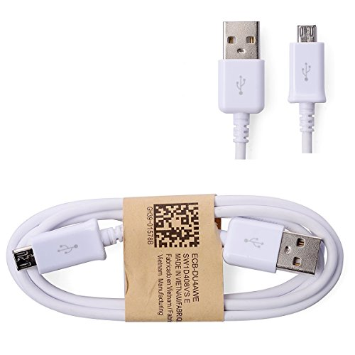SAMSUNG - CABLE USB BLANC pour SAMSUNG Galaxy S5 / S4 /...