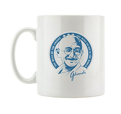 Ghandi Coole Party Tasse