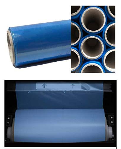 BIOfolie 0905 Folienrolle für STEPSTAR & BIOTHERM | Überschuh-Folie > für jede Größe/Form, extrem rutsch- & reißfest, gegen Schmutz, hoher Tragekomfort, kompostierbar nach EN13432