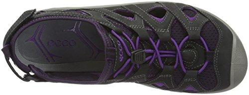 Ecco Damen Biom Delta Outdoor Fitnessschuhe Schwarz (56405black/imperial Purple)