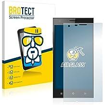 BROTECT AirGlass Protector Pantalla Cristal Flexible Transparente para Cubot S308 Protector Cristal Vidrio - Extra-Duro, Ultra-Ligero, Ultra-Claro