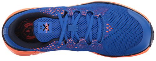 Under Armour Boys Grade School X Level Scramjet LTW Ultra Blue/Magma Orange/Midnight Navy