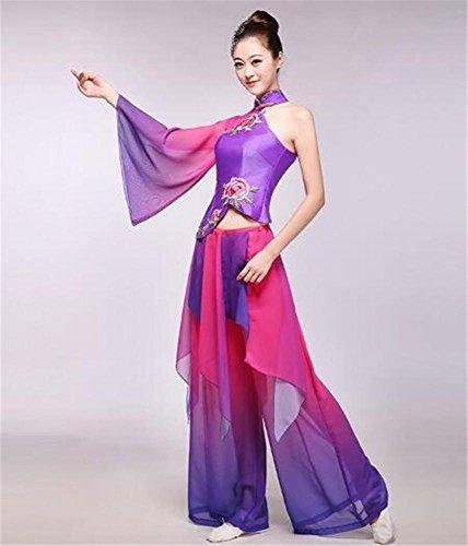 Set di costumi etnici classici / spettacolo teatrale / abiti da danza per donna , xxxl
