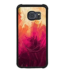 Fuson Illustration Painting Designer Back Case Cover for Samsung Galaxy S6 Edge :: Samsung Galaxy S6 Edge G925 :: Samsung Galaxy S6 Edge G925I G9250 G925A G925F G925Fq G925K G925L G925S G925T (Abstact Art Paint Painting Illustrations)