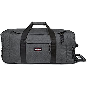 Eastpak Leatherface L Sac de voyage à roulettes, 87 cm, 98 L, Gris (Black Denim)