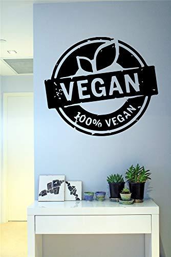 Wandaufkleber Kinderzimmer Raum-vegane Energie-Gemüsenatur Flora Food Health Life Decal