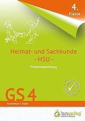 Übungsheft - Probensammlung Grundschule Heimat- und Sachkunde 4. Klasse (Probensammlungen / Grundschule)