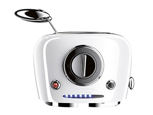 Viceversa 10061 Tix Sandwich-Toaster, weiß