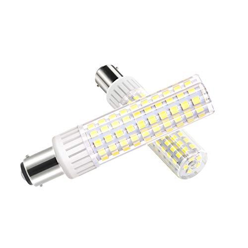 B15D-LED-Lampe-Glühlampe-8.5W, B15D LED Leuchtmittel, Dimmbar, 1105Lumen, 90-265V AC, 360 Grad Winkel, CRI> 90Ra, Kaltes Weiß 6000K, Ersatz für 100W B15D Halogenlampen(1er Pack) - 24 Volt 70 Watt Glühbirne