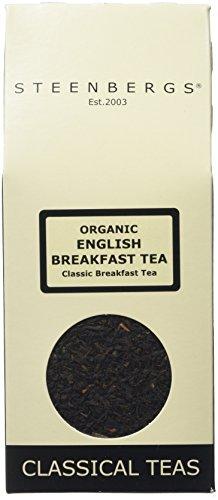 Steenbergs Organic English Breakfast Tea 100 g (Pack of 4)