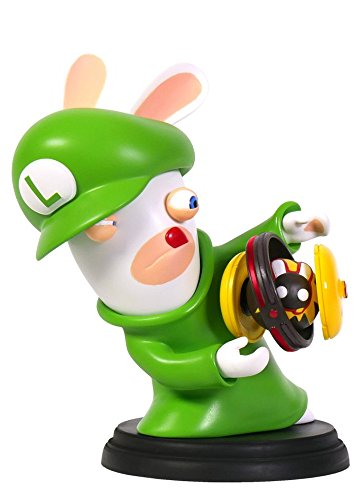 Mario & Rabbids Kingdom Battle - Figur Rabbid Luigi (16,5 cm)