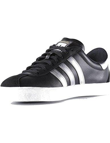 Adidas Skate Adv Core Noir / Argent Métallisé / Blanc Running. Noyau Noir / Argent Métallisé / Blanc