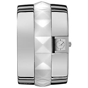 Diesel DZ5163 – Reloj de Pulsera para Mujer, plástico y Acero Inoxidable,