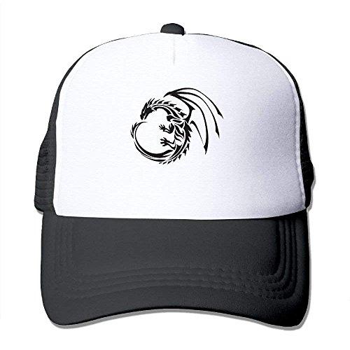 fboylovefor Dragon Unisex Trucker Hats Hip Hop Snapback Hat Summer Hats for Man Junior Boys Hip Hop Trucker Hats