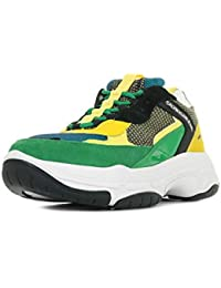 competitive price 227b3 ab700 Calvin Klein Marvin Nylon Green Lemon S0592BGL, Scarpe Sportive