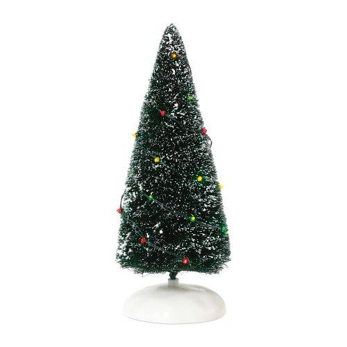Département 56 Zubehör für Dörfer Twinkle Brite Frosted Topiary Zubehör Figur -
